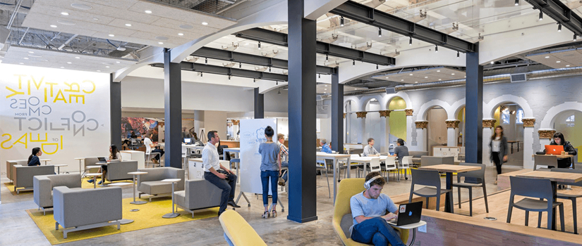Why are Co working spaces are becoming a hot property option for office real estate sector?