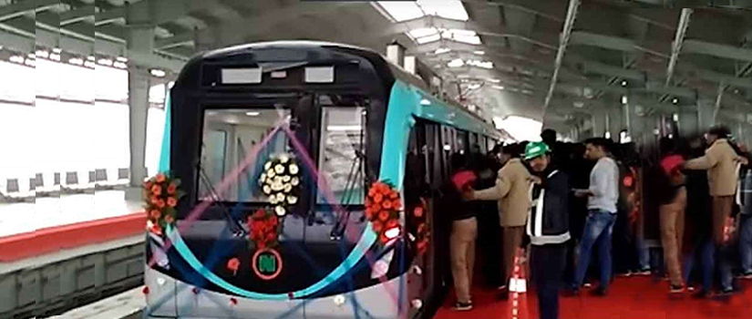 Aqua Metro line soon to be extended from Noida sector 71 to Knowledge Park 5